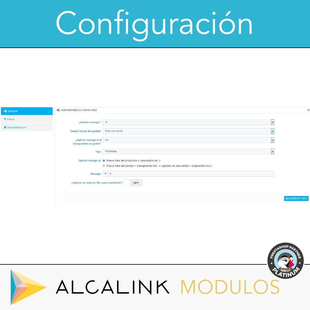 module - Pago a la Entrega (contrarrembolso) - Pago contrareembolso con recargo/comisión - 2