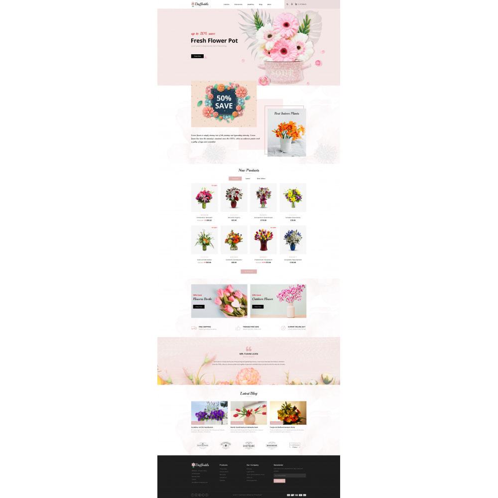 theme - Prezenty, Kwiaty & Uroczystości - Daffodils - Flowers Store - 2