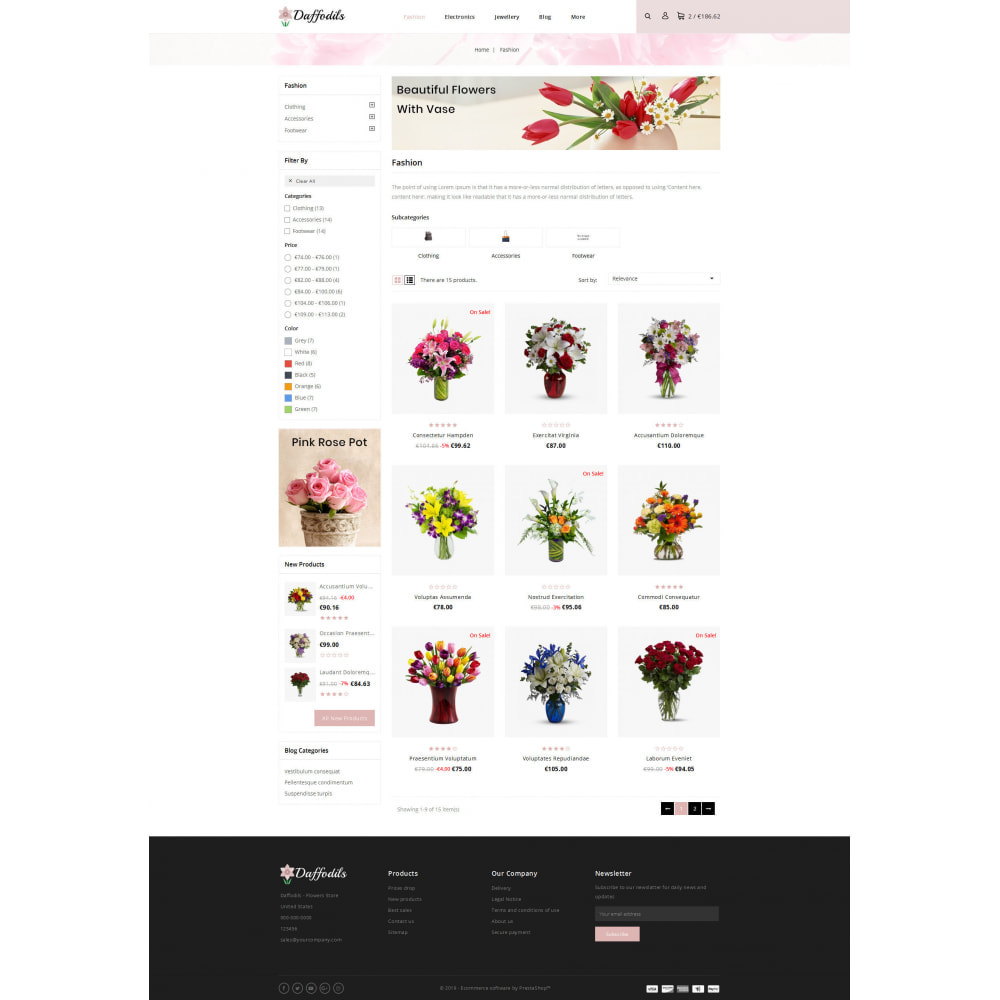 theme - Gifts, Flowers & Celebrations - Daffodils - Flowers Store - 3
