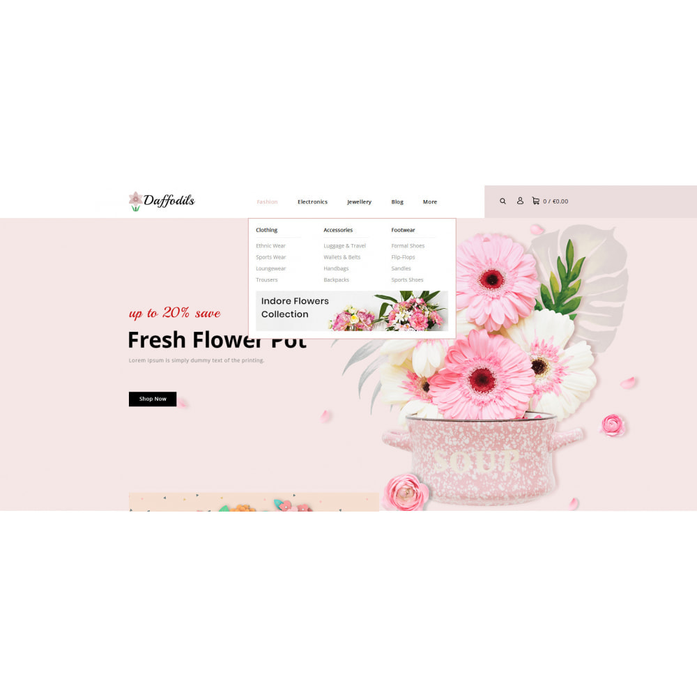 theme - Prezenty, Kwiaty & Uroczystości - Daffodils - Flowers Store - 8