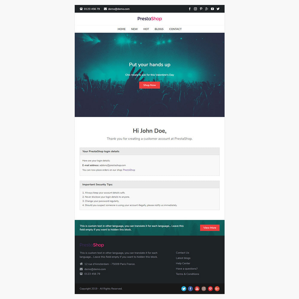 email - Template di e-mail PrestaShop - Dolly - Email template - 3