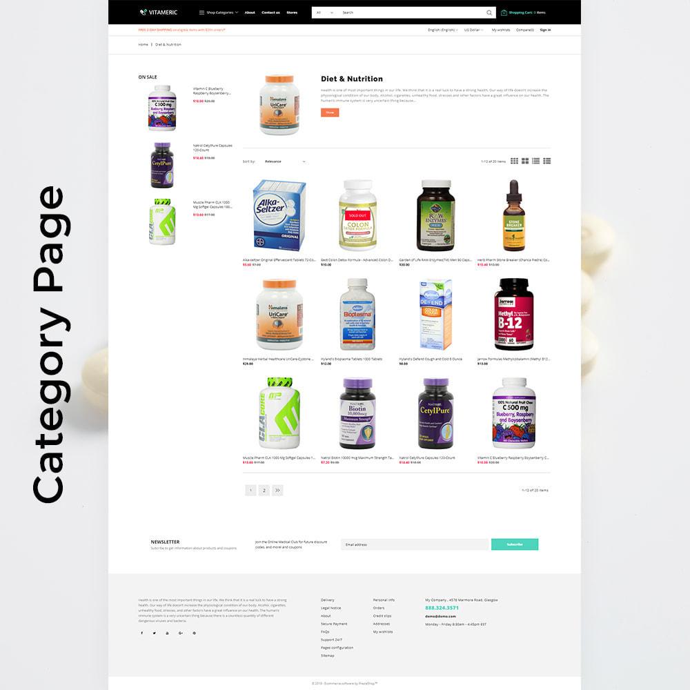 theme - Gezondheid & Schoonheid - Vitameric - Medical Store - 4