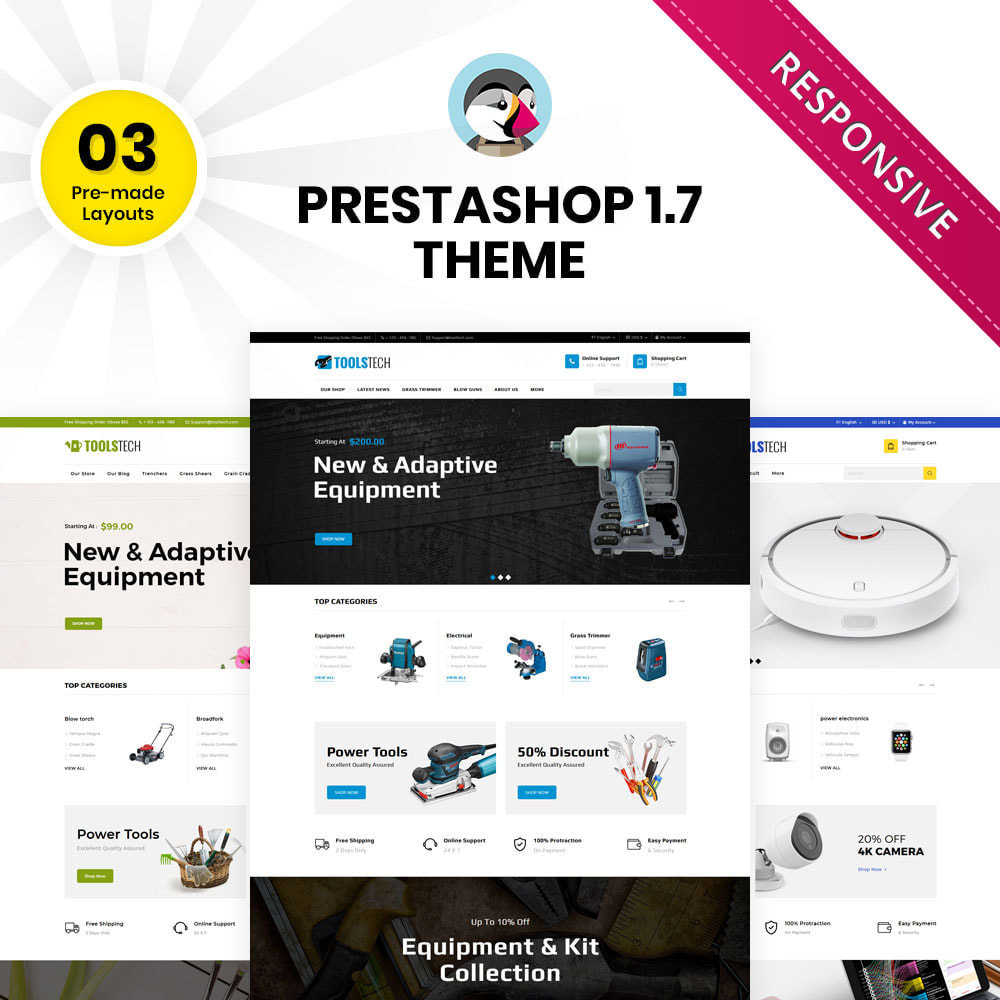 theme - Electronique & High Tech - ToolTech - Le magasin d'outils - 2