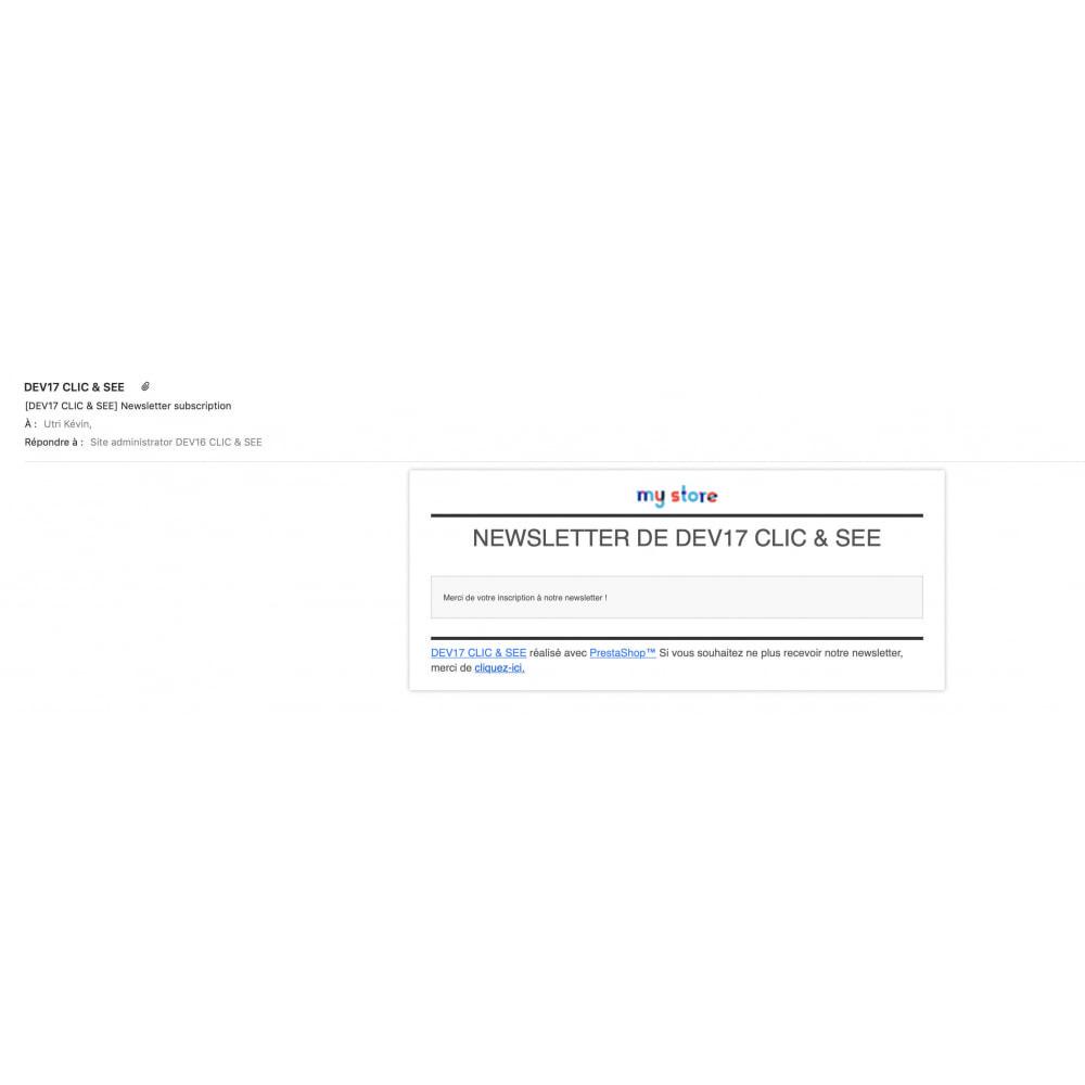 module - Newsletter & SMS - Newsletter Pro Publicité - 9
