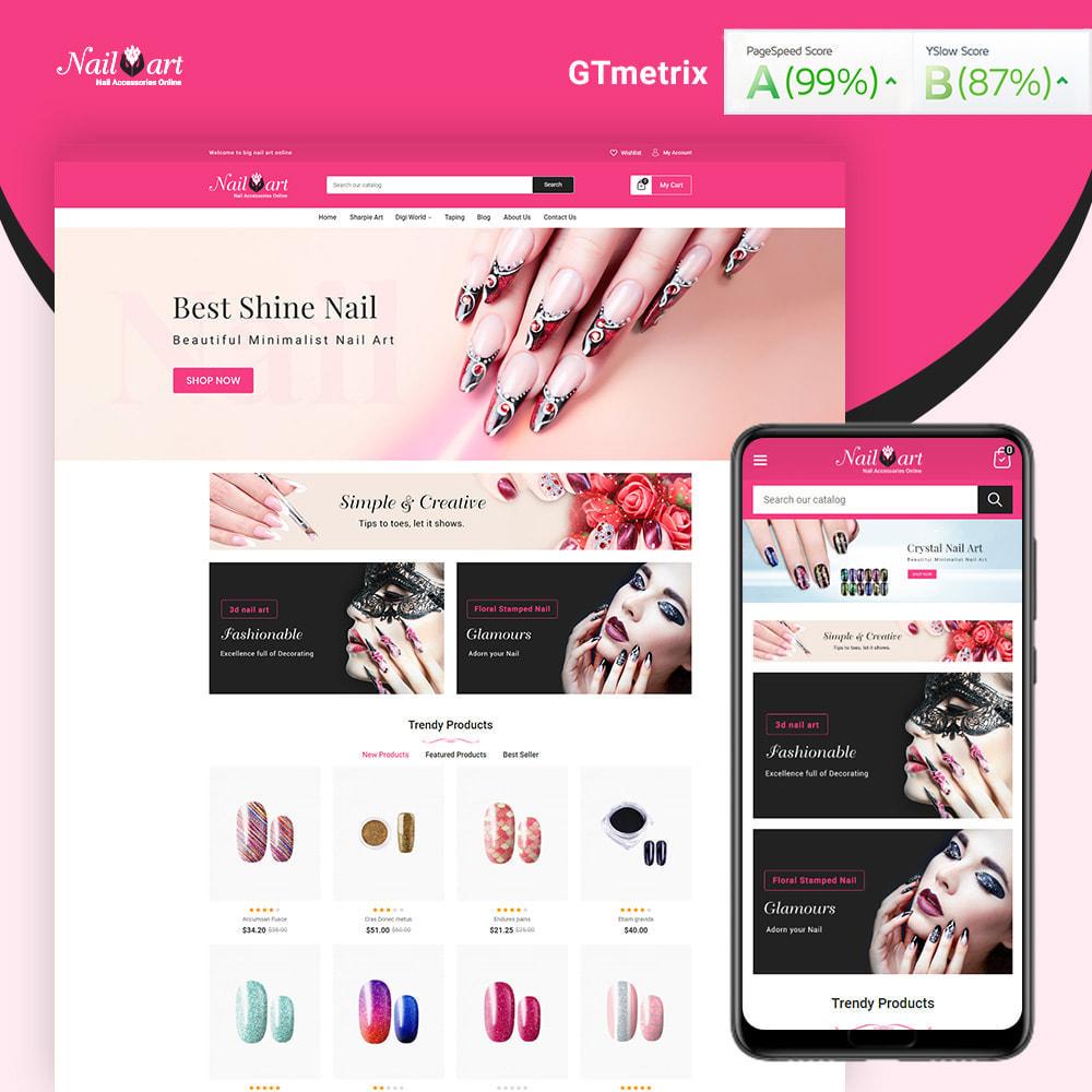 theme - Salute & Bellezza - Nailart Beauty Store - 1