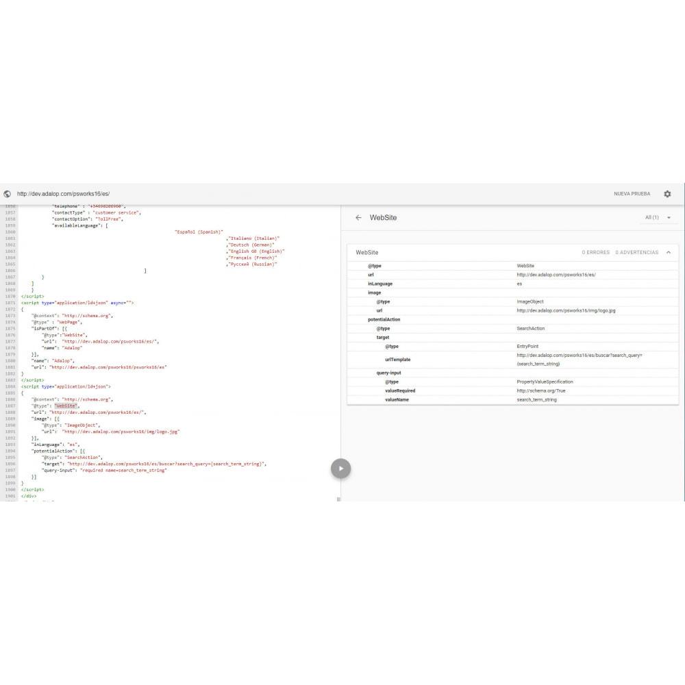 module - SEO (Posicionamiento en buscadores) - Integración Completa MICRODATOS y OPEN GRAPH - SEO - 13