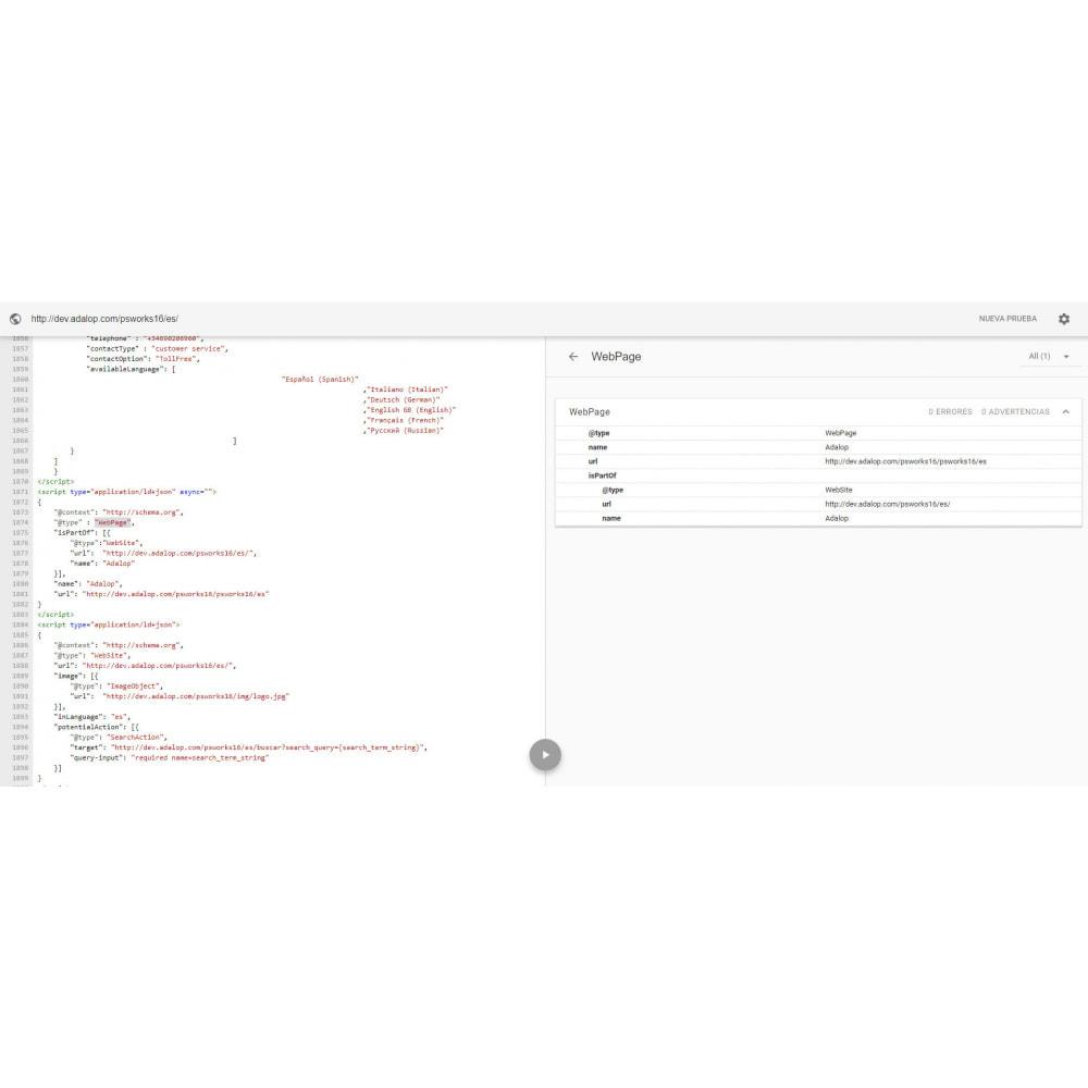 module - SEO (Indicizzazione naturale) - Integrazione JSON-LD MICRODATI e OPEN GRAPH - SEO - 17