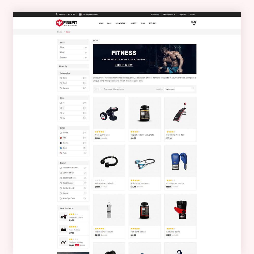 theme - Sport, Aktivitäten & Reise - Finefit Fitness Store - 5