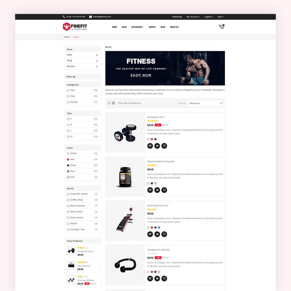 theme - Sport, Aktivitäten & Reise - Finefit Fitness Store - 6