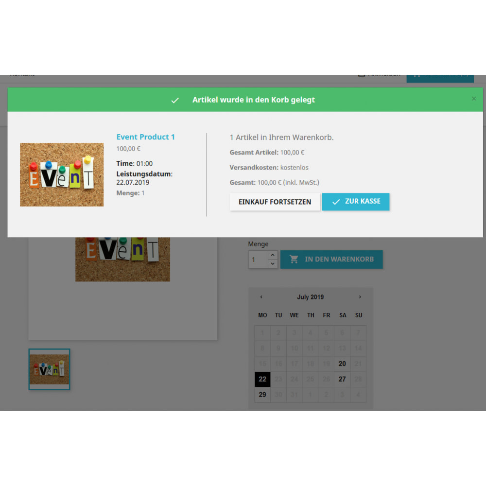 module - Verhuur en reserveringen - Recurring Events Calendar PRO, Sell Your Events Online - 7
