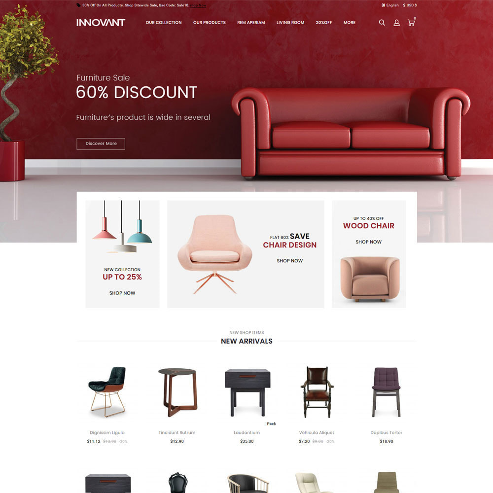 theme - Dom & Ogród - Innovant - The Furniture Store - 4