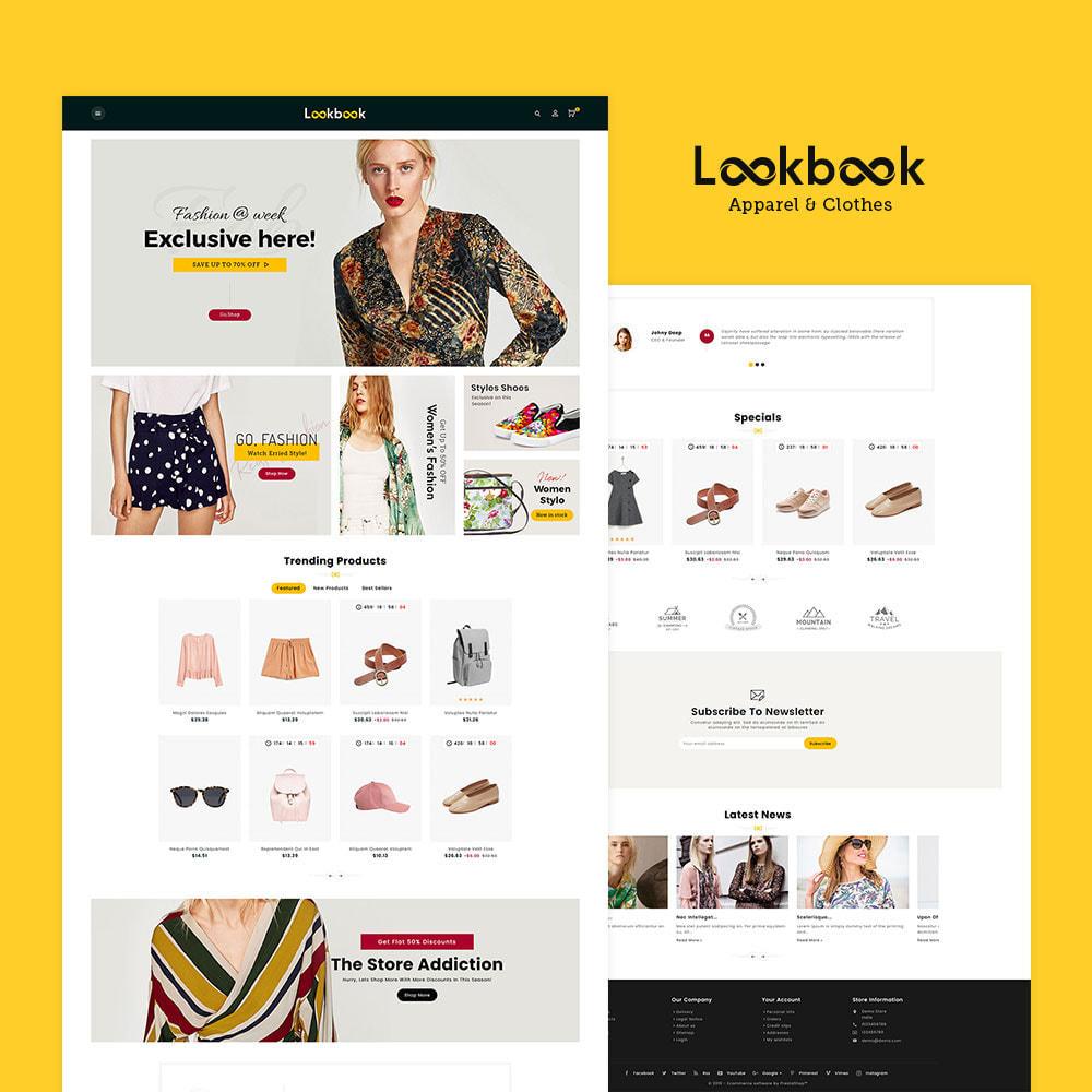 theme - Fashion & Shoes - Lookbook - Fashion Apparels - 2