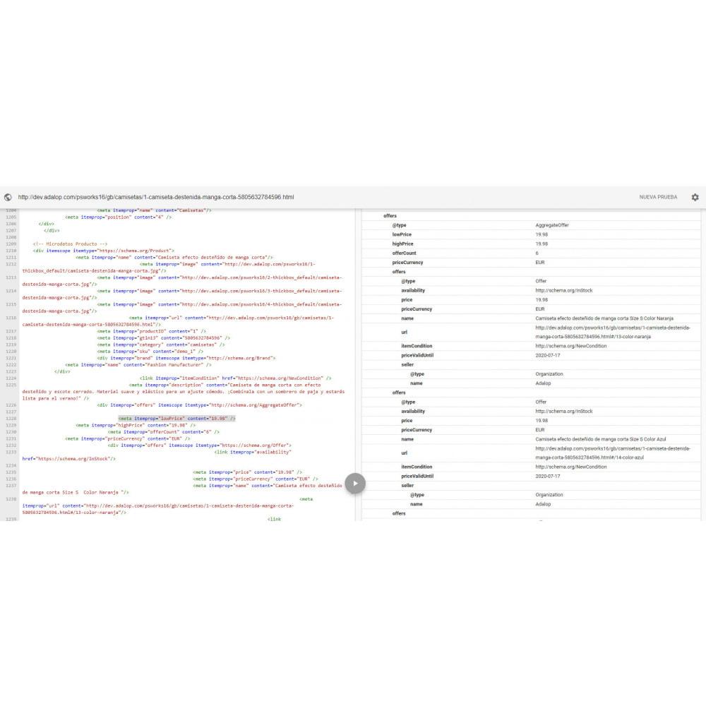 module - SEO (Indicizzazione naturale) - Integrazione completa MICRODATA e OPEN GRAPH - SEO - 17