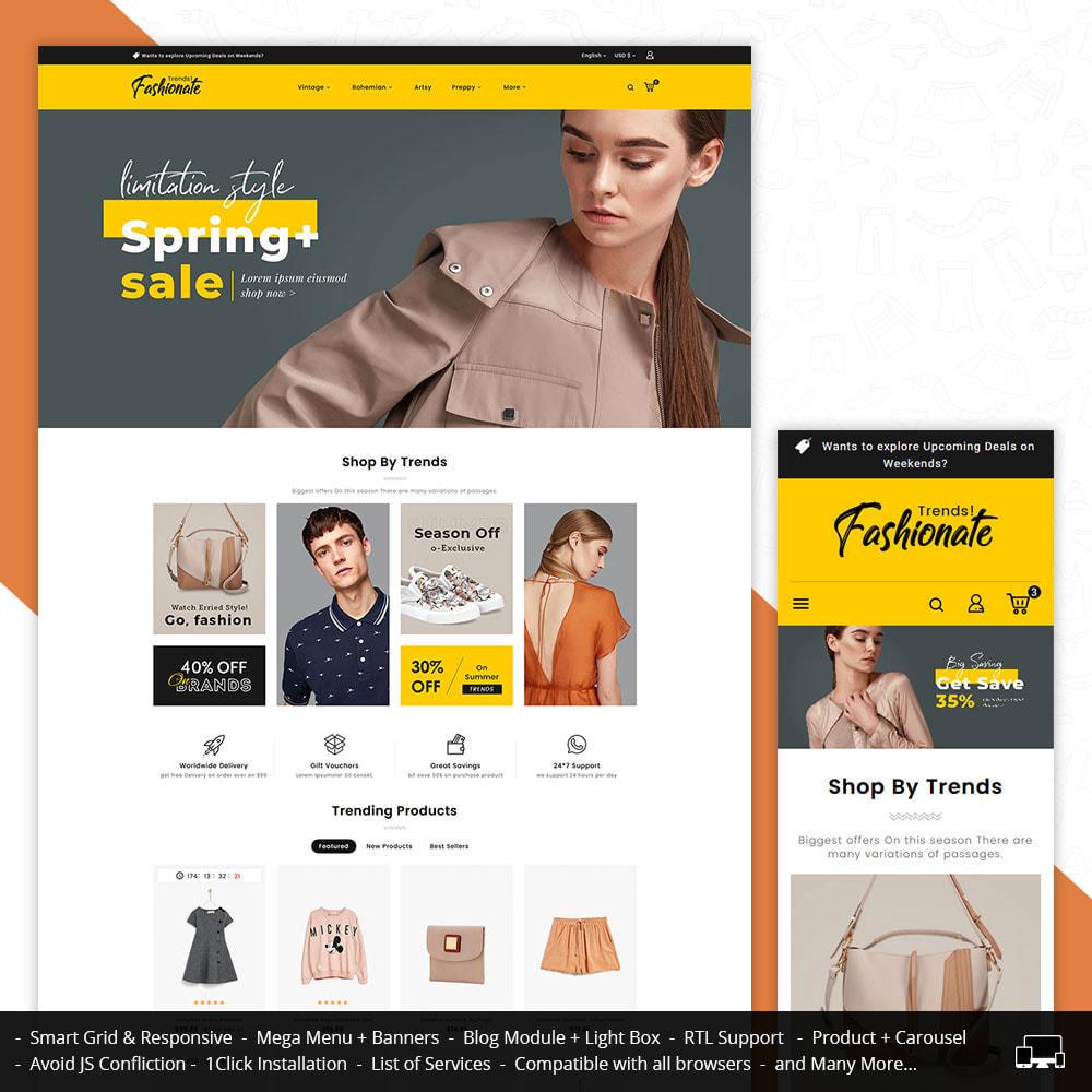 theme - Fashion & Shoes - Fashionate - Clothes & Trends - 1