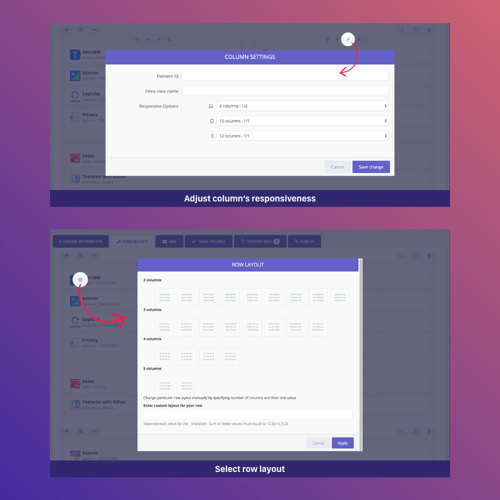 module - Форма обратной связи и Опросы - Form Builder - contact form, product, cms, quote Form - 10
