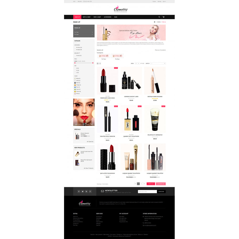 theme - Health & Beauty - Cosmetic Store - 3