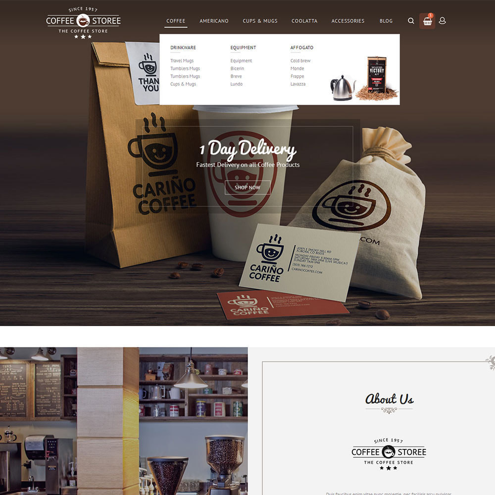 theme - Drink & Wine - Coffee Store - 6