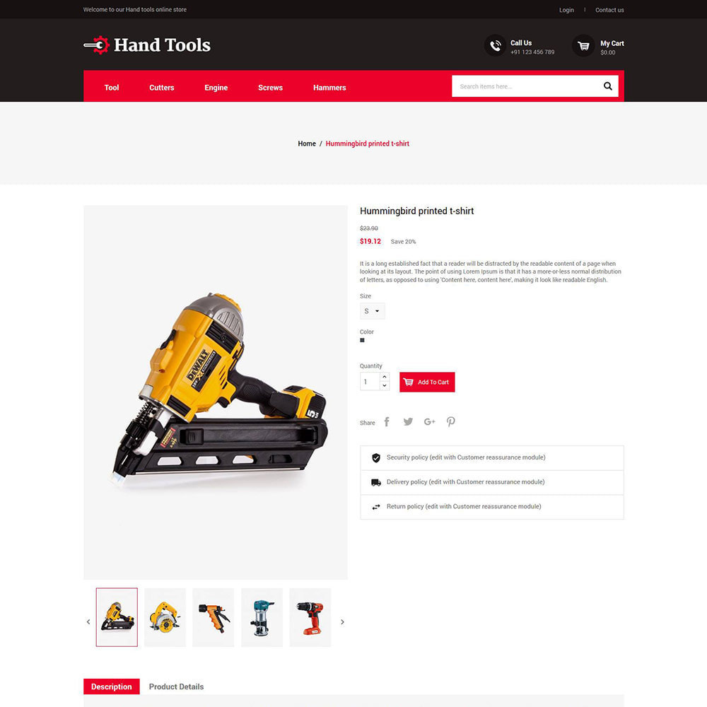 theme - Automotive & Cars - Hand Tools - Equipment Spare Part Store - 5