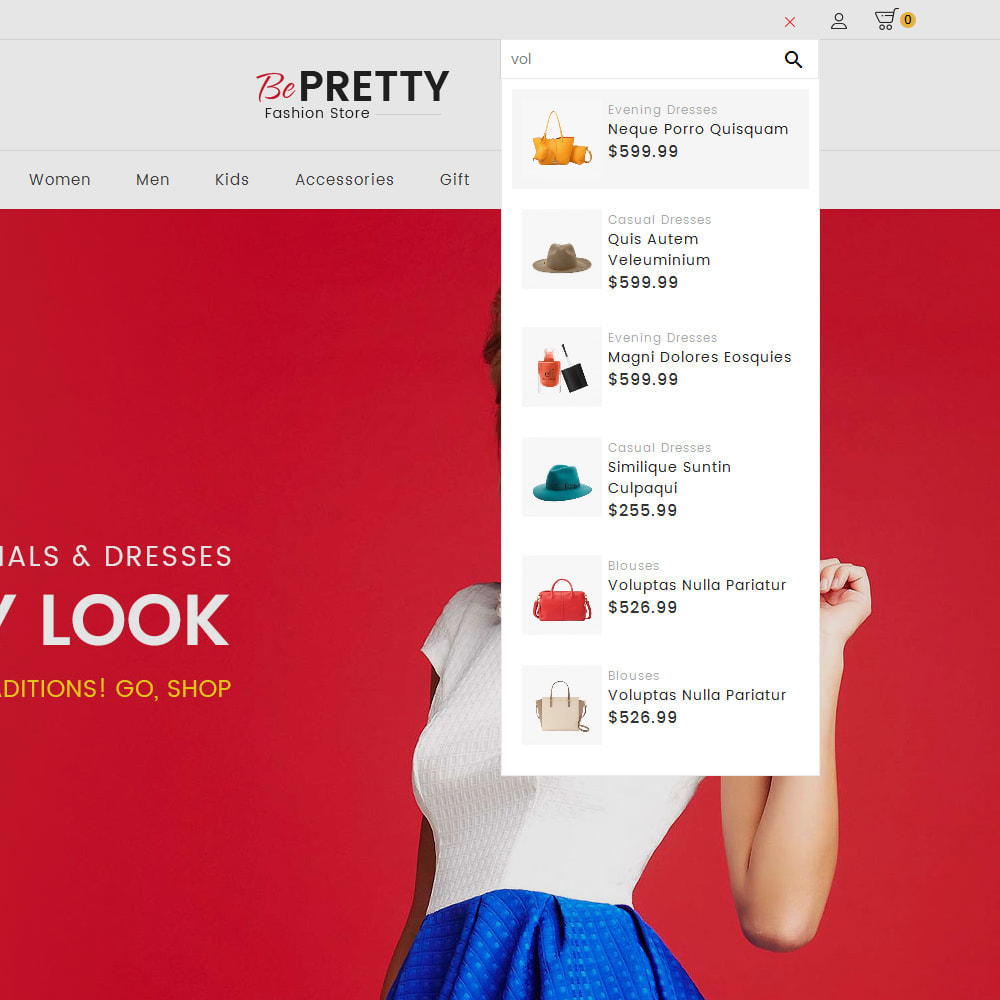 theme - Moda & Obuwie - BePretty Fashion Store - 11
