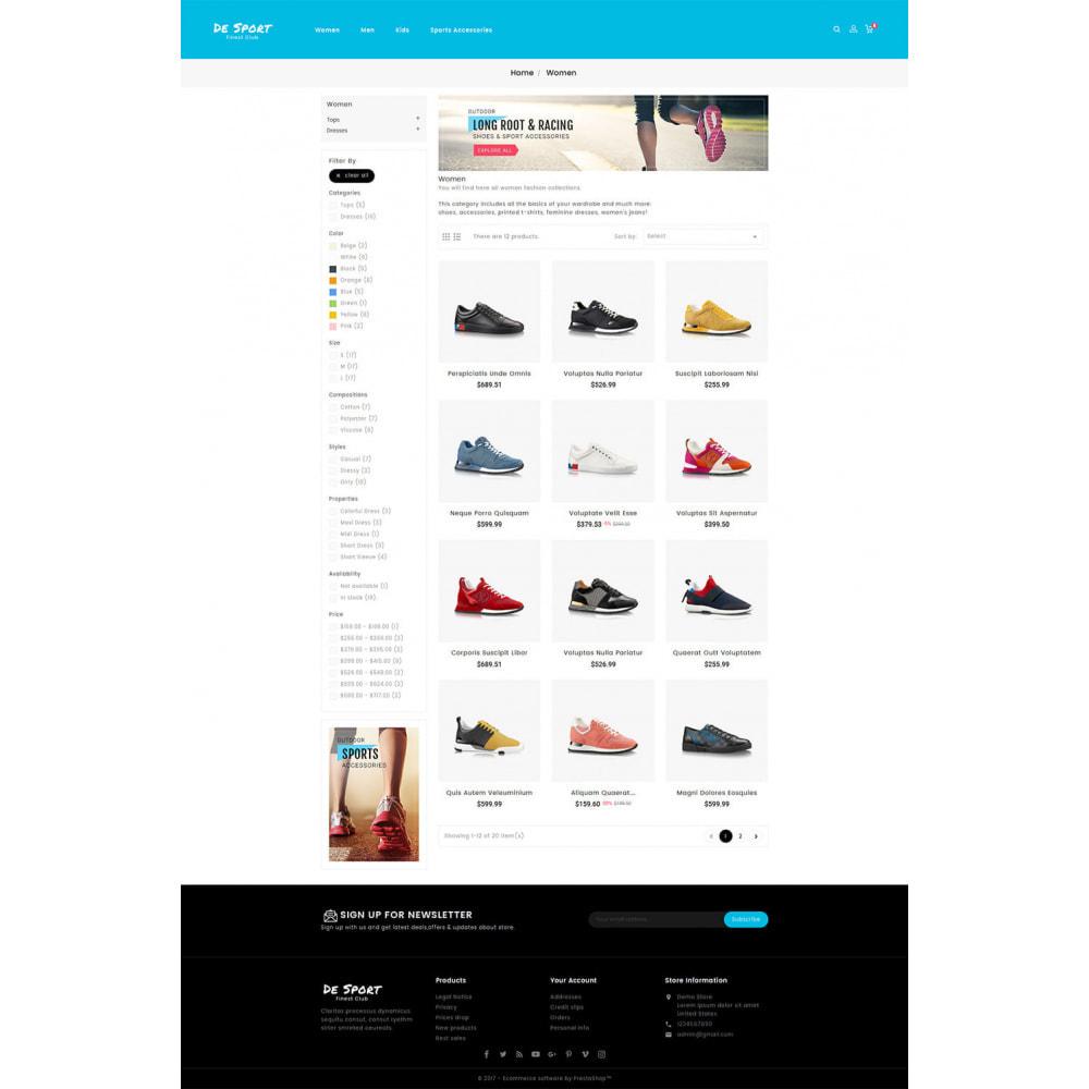 theme - Sports, Activities & Travel - De Sport - Shoes Store - 3
