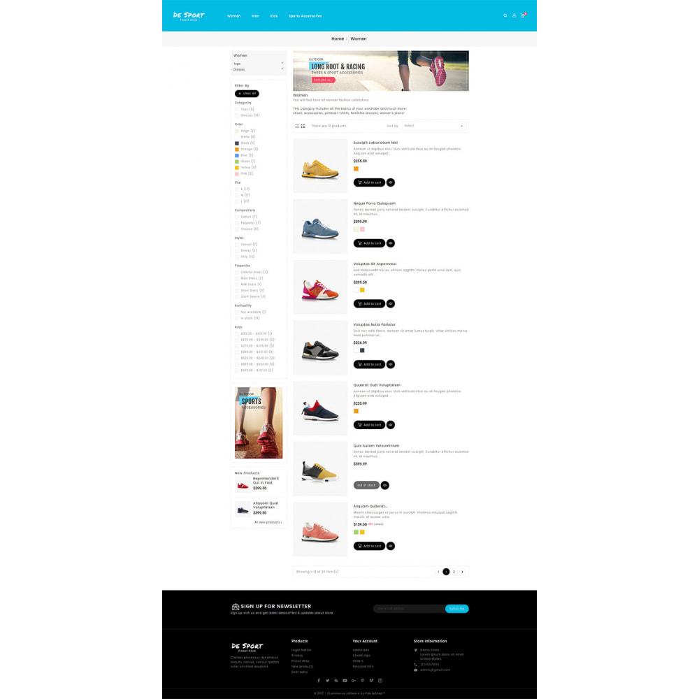 theme - Sports, Activities & Travel - De Sport - Shoes Store - 4