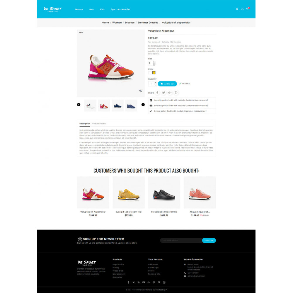 theme - Спорт и Путешествия - De Sport - Shoes Store - 5