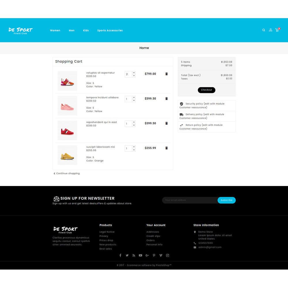 theme - Спорт и Путешествия - De Sport - Shoes Store - 6