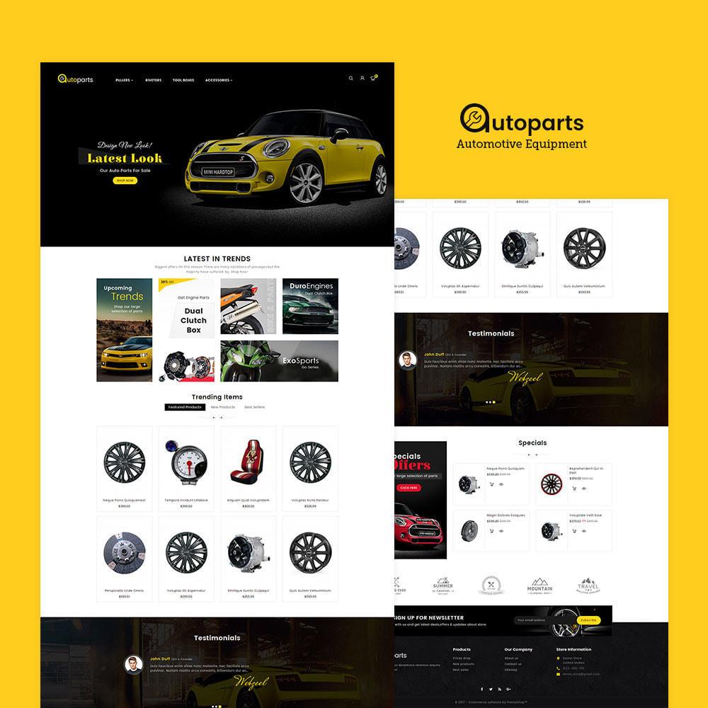 theme - Automotive & Cars - Auto Parts Store - 2