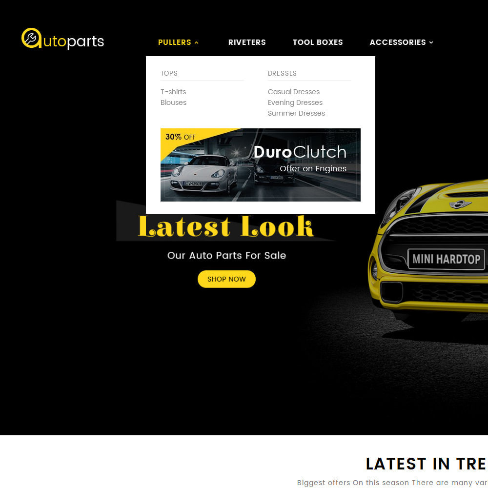 theme - Auto & Moto - Auto Parts Store - 9