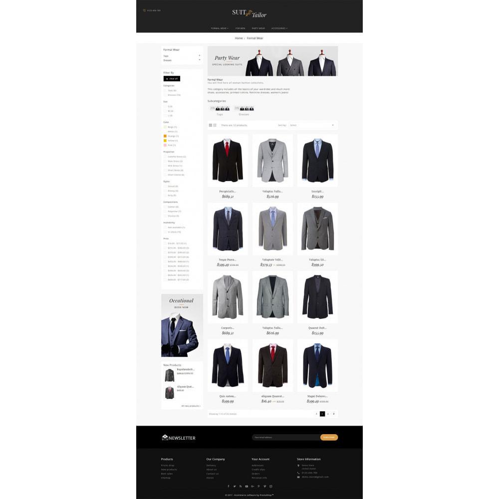 theme - Мода и обувь - Suit/Tailor Store - 3