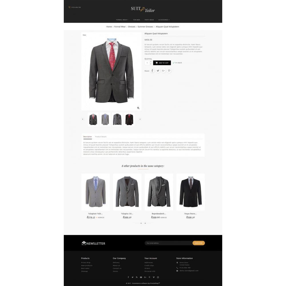 theme - Мода и обувь - Suit/Tailor Store - 5