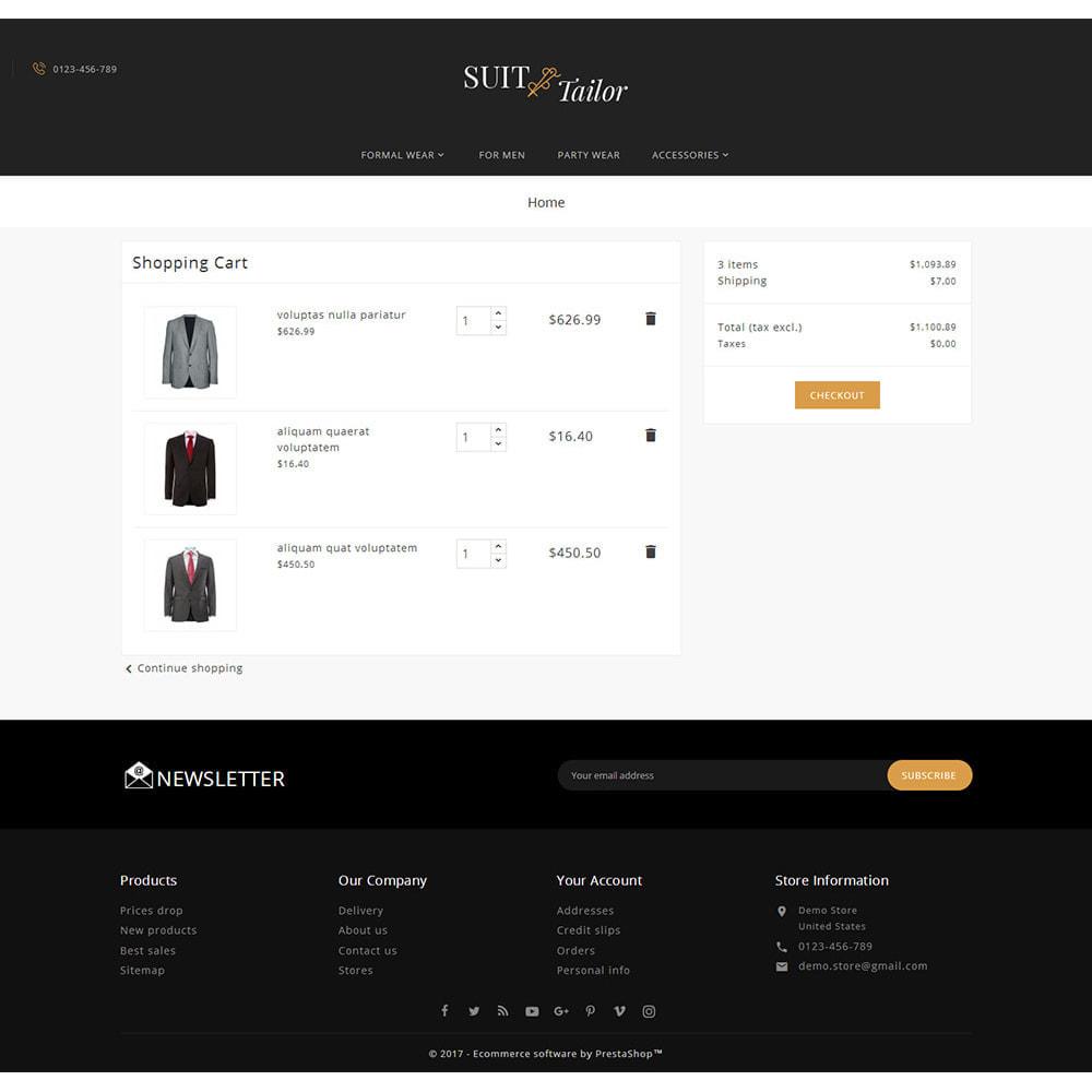theme - Мода и обувь - Suit/Tailor Store - 6