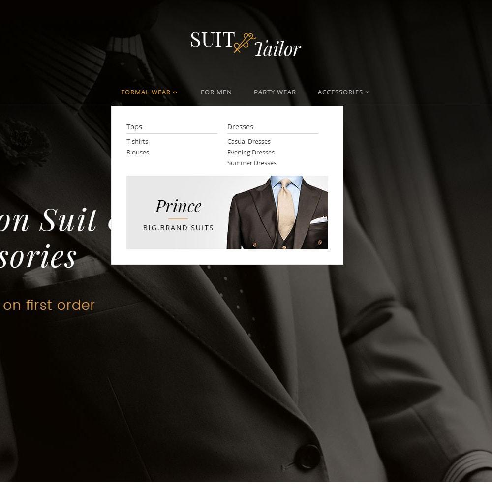 theme - Мода и обувь - Suit/Tailor Store - 9