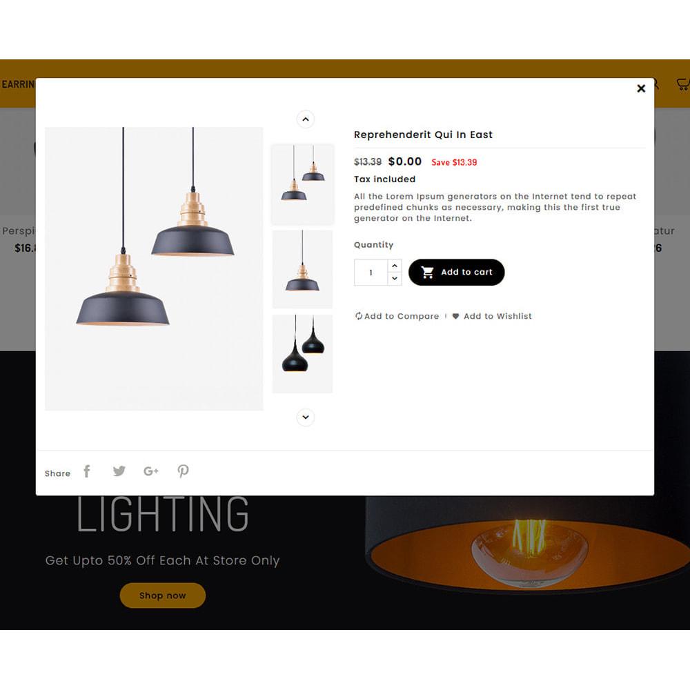 theme - Casa & Jardins - Lighting - Decorative Art - 8
