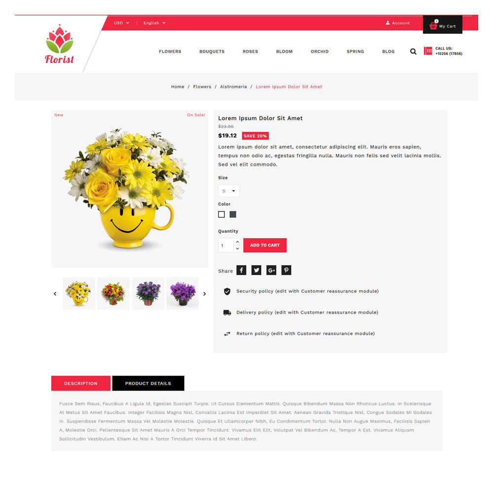 theme - Gifts, Flowers & Celebrations - Florist Flowers & Gifts Store - 5