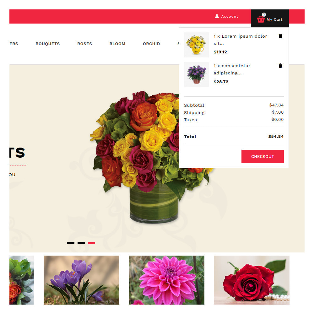 theme - Gifts, Flowers & Celebrations - Florist Flowers & Gifts Store - 7