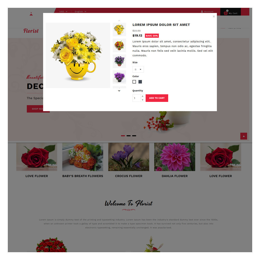 theme - Gifts, Flowers & Celebrations - Florist Flowers & Gifts Store - 9