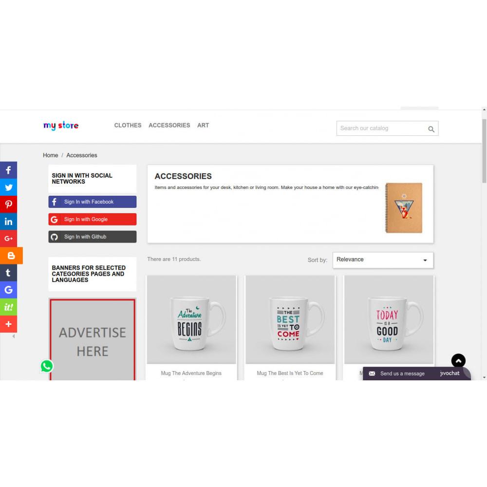 module - Blocks, Reiter & Banner - Kundenspezifische rotierende Banner in Intervallen - 4