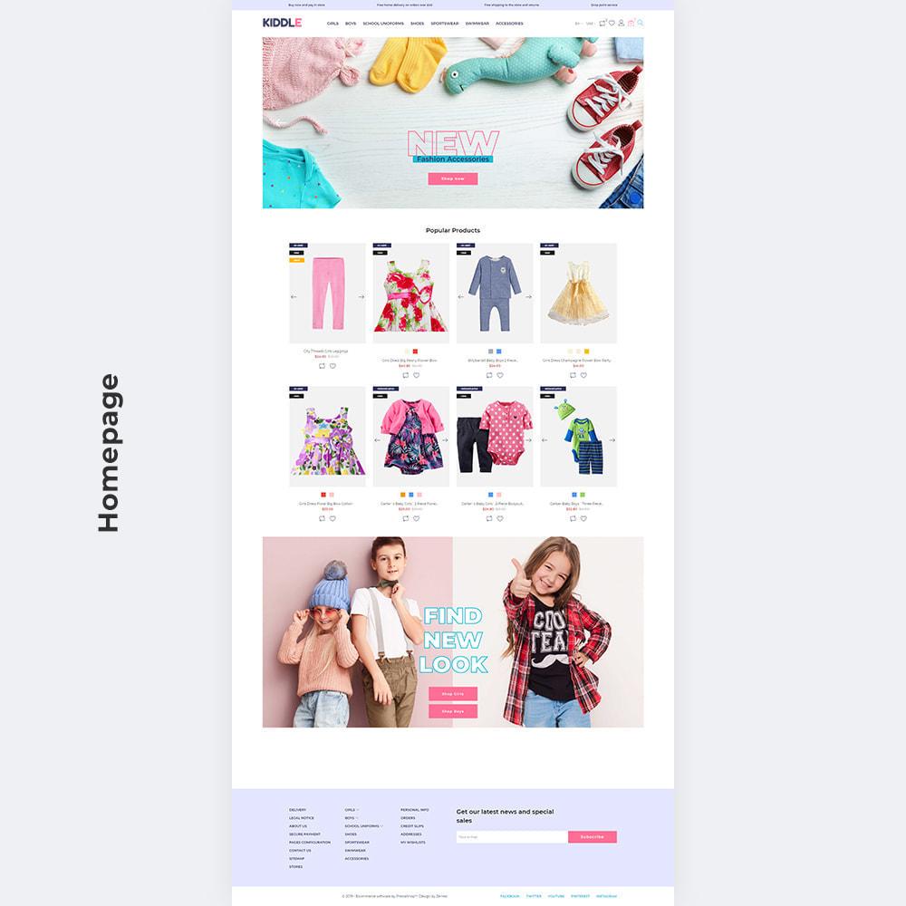 theme - Fashion & Shoes - Kiddle - Children Clothes Store - 3