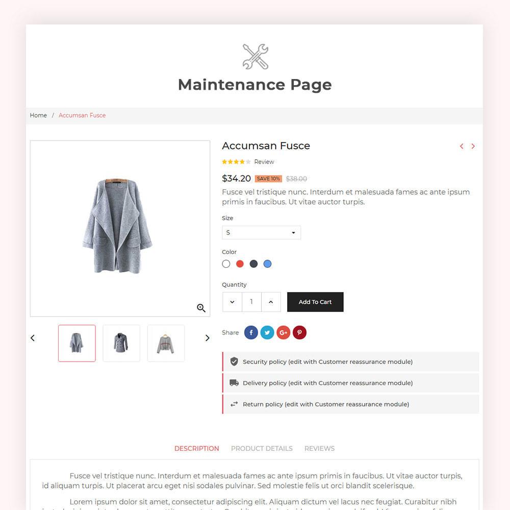 theme - Fashion & Shoes - Foxil Fashion Store - 8