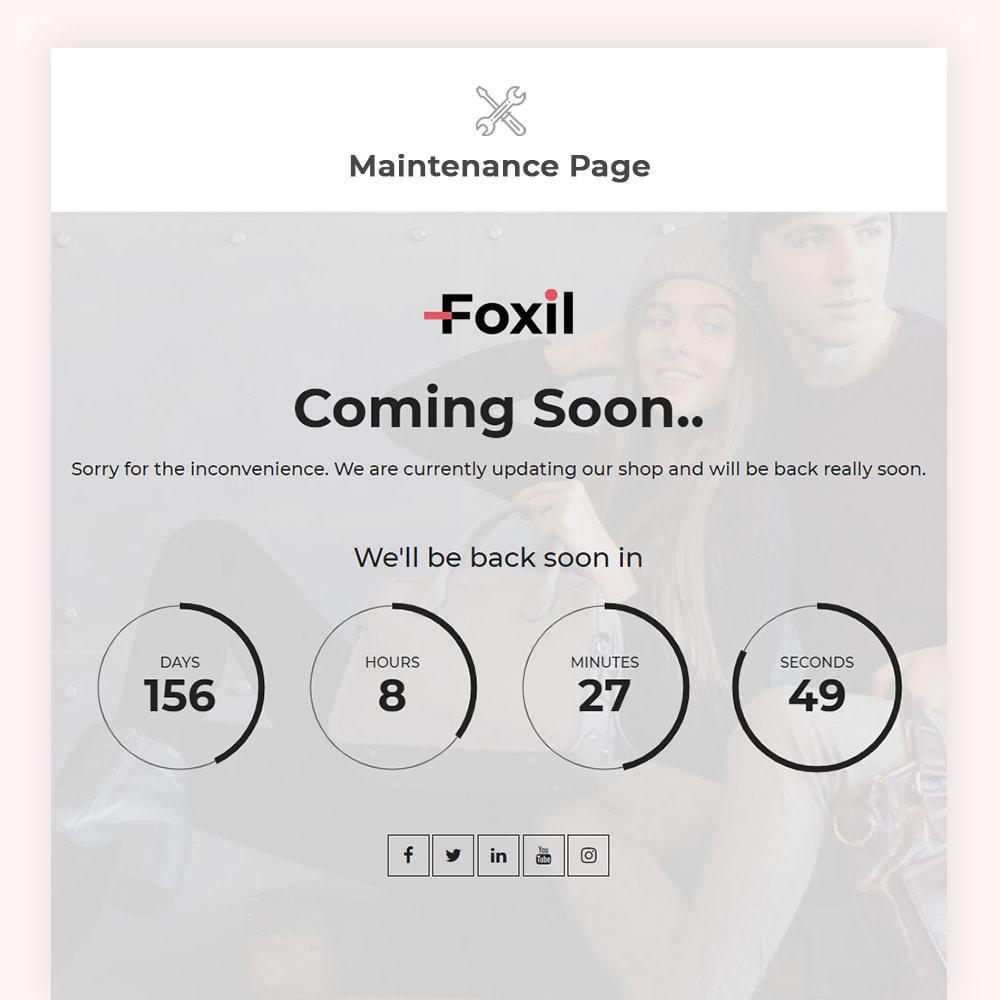 theme - Fashion & Shoes - Foxil Fashion Store - 9
