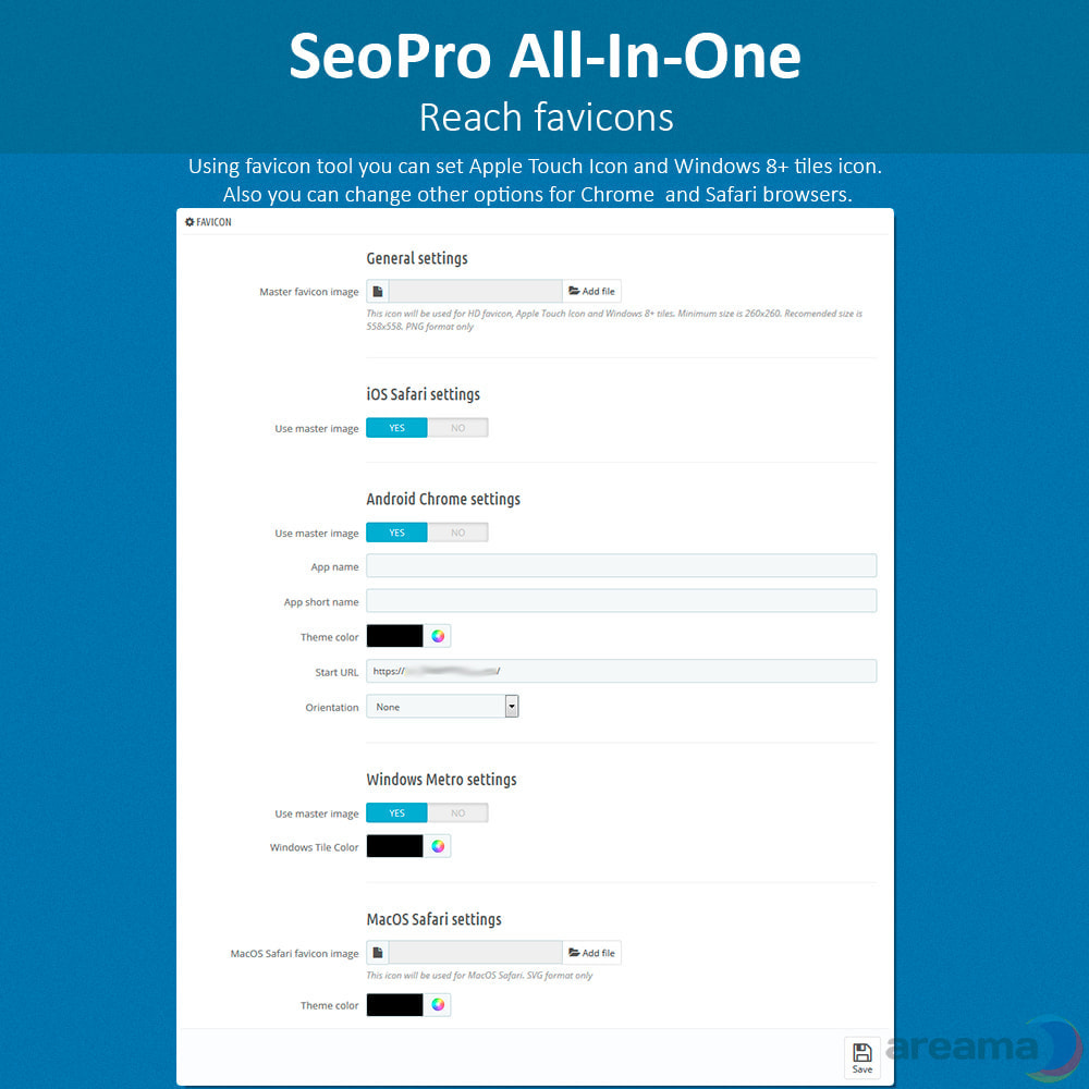 module - SEO (Posicionamiento en buscadores) - SeoPro All-In-One. URL cleaner, redirects, sitemaps... - 7