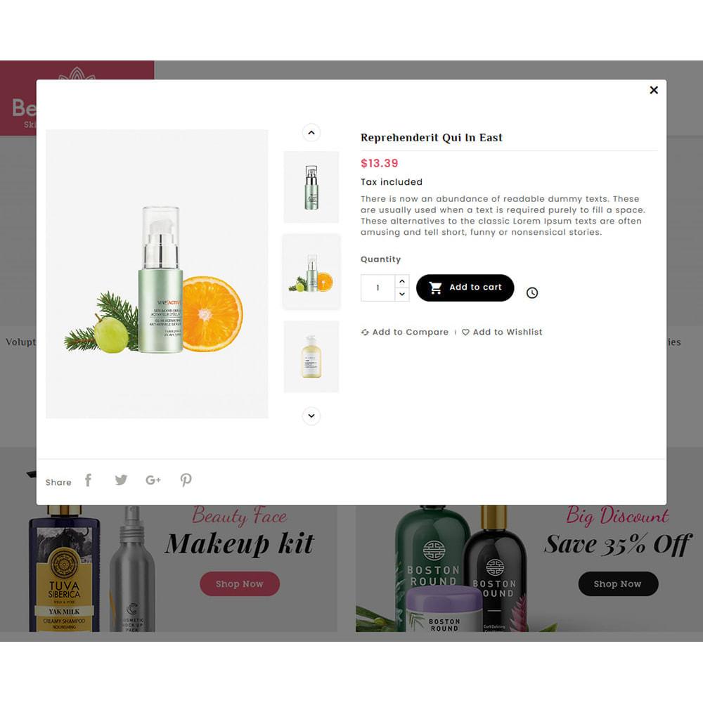 theme - Salute & Bellezza - Beautique Skin Cosmetics - 8