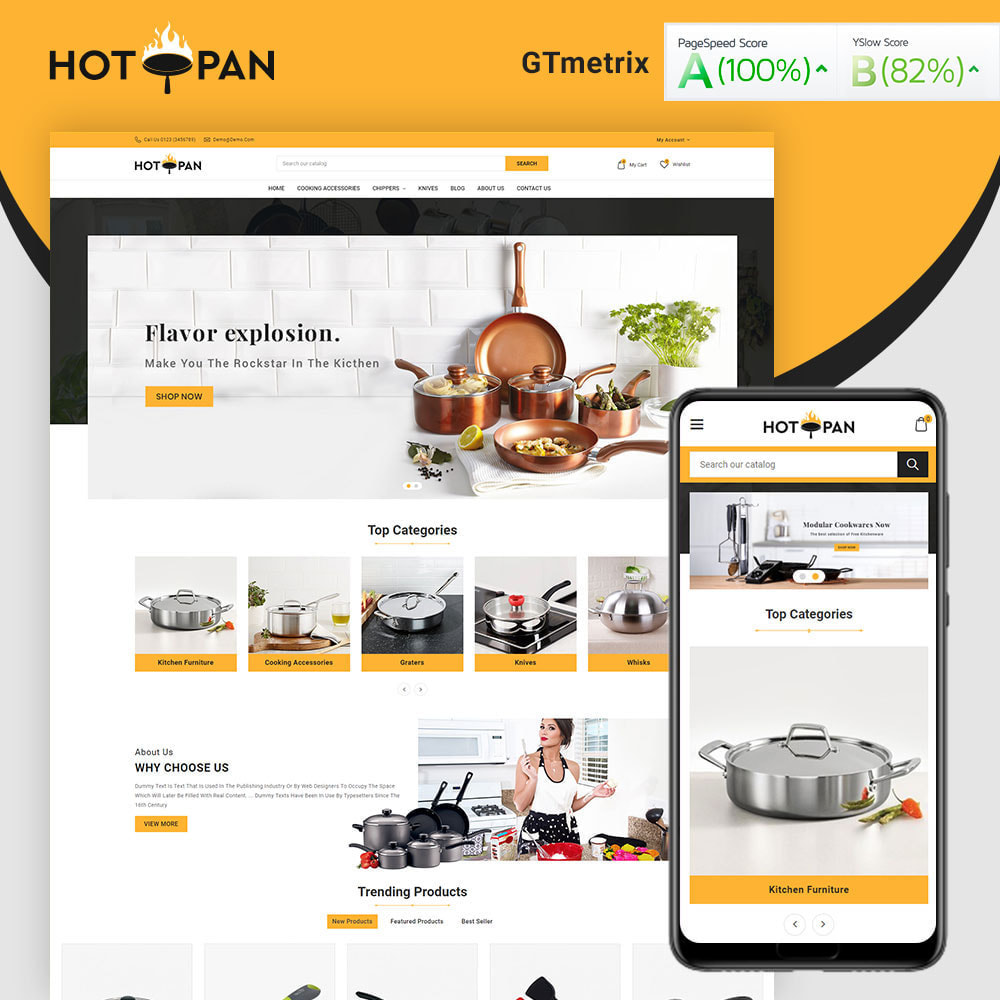 theme - Home & Garden - Hotpan Kitchen Store - 1