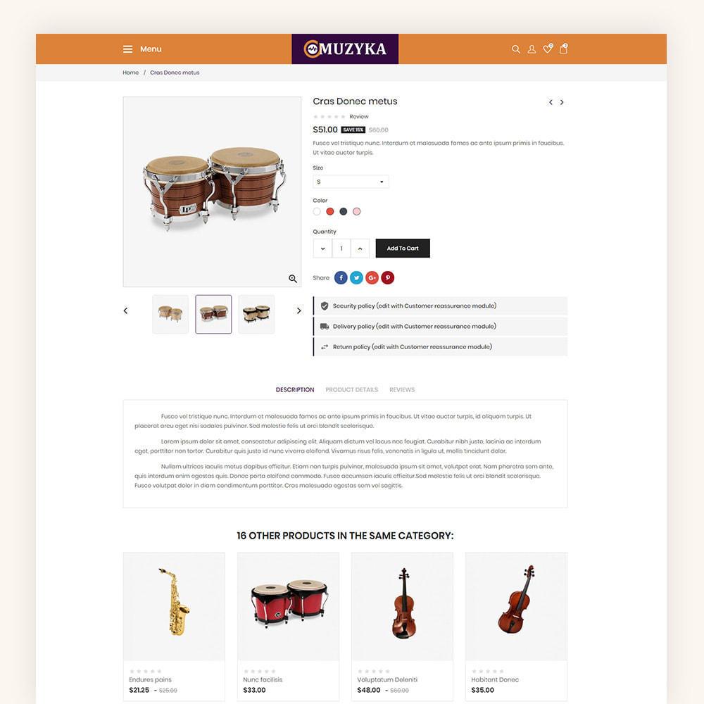 theme - Art & Culture - Muzyka Mugic Instruments Store - 8
