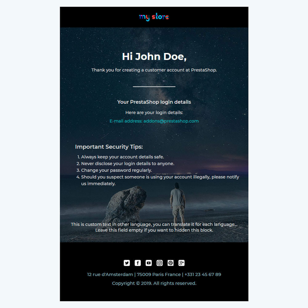 email - Template di e-mail PrestaShop - Wiz - Professional responsive Email Template - 3