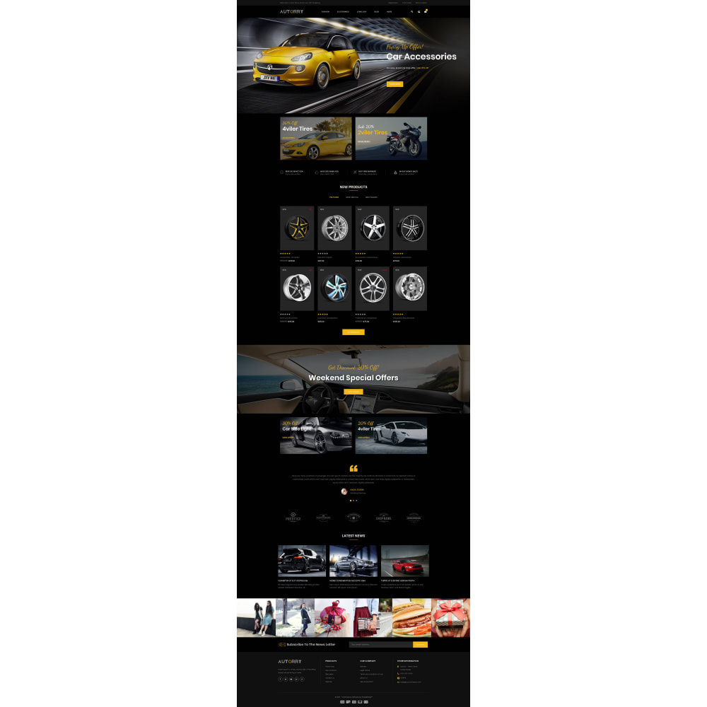 theme - Auto's & Motoren - Autorry - Auto Parts Store - 2