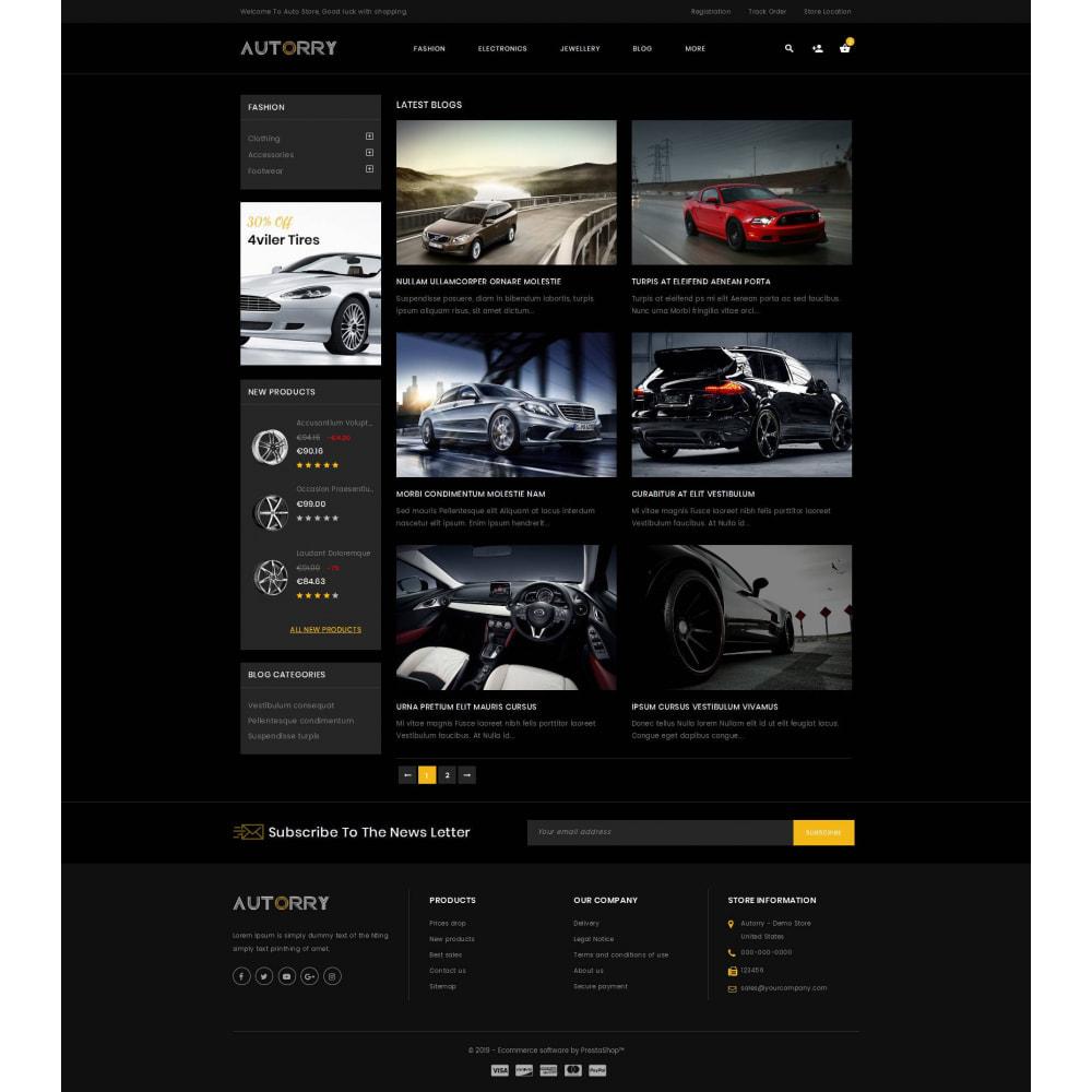 theme - Auto's & Motoren - Autorry - Auto Parts Store - 9