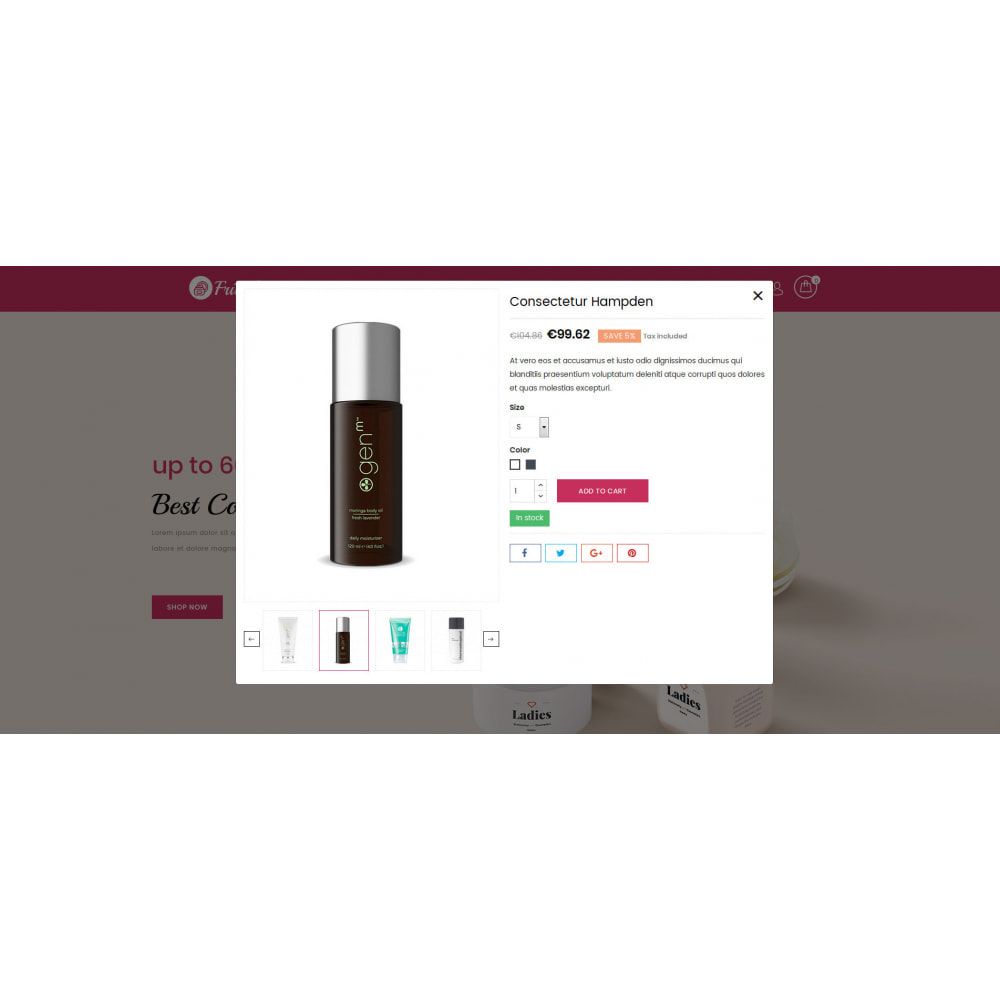 theme - Gesundheit & Schönheit - Frivolous - Cosmetic Store - 8