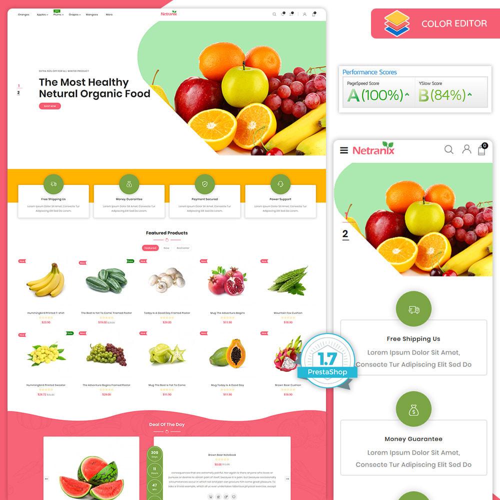 theme - Food & Restaurant - Netranix - The Organic Food - 2